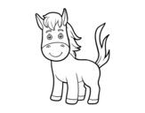 Dibujo de A foal