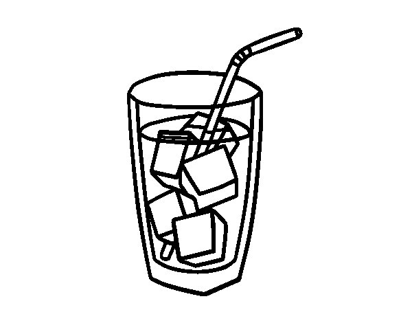 soda coloring pages - photo#26