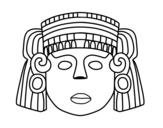 Dibujo de A mexican mask