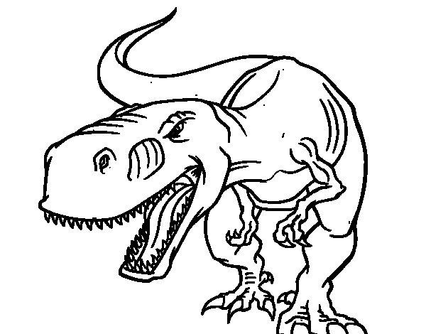 angry-tyrannosaurus-rex-colorear