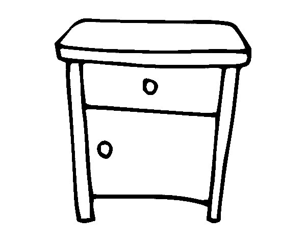 tables coloring pages - photo #44
