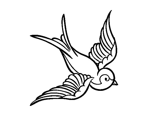 ducks tattoos coloring pages - photo#21