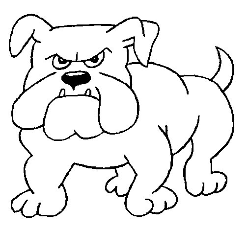 Georgia Bulldogs Mascot Coloring Page Coloring Coloring Pages