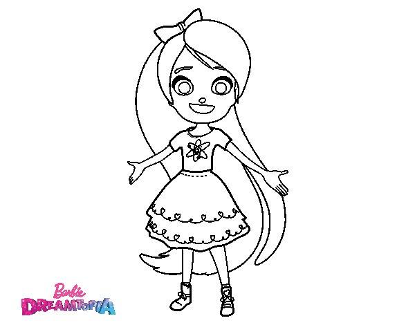 Chelsea Dreamtopia coloring page