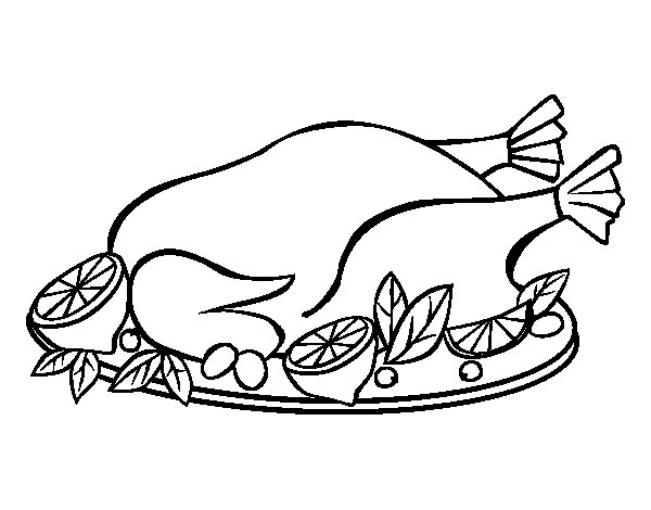 Chicken food coloring pages for Chicken food coloring pages