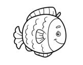 Dibujo de Childrish fish