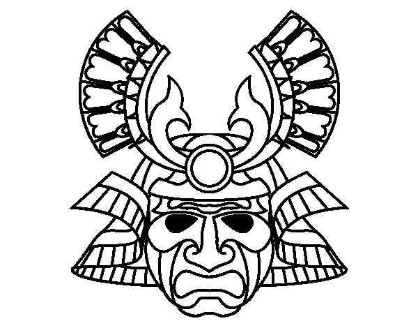 Niño Leyendo Un Libro Colouring Pages Page 2: Chinese Mask Coloring Page