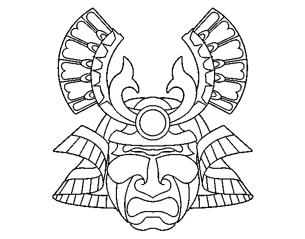 chinese mask coloring page dragon head - Chinese Dragon Head Coloring Pages