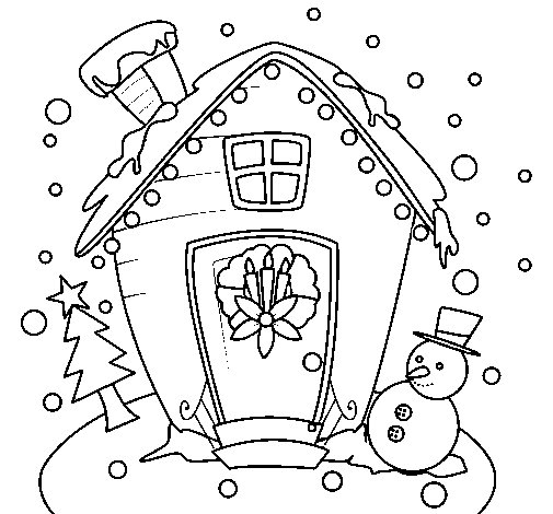 christmas card coloring page  Coloringcrewcom