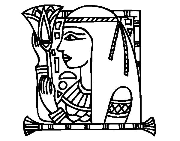 Cleopatra coloring page  Coloringcrewcom