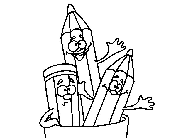 colored pencil coloring pages 28 images pencils coloring page