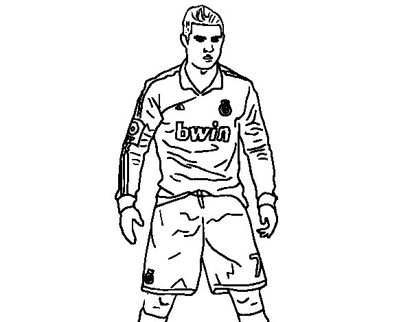 Sergio Ramos Coloring PagesRamosPrintable Coloring Pages Free