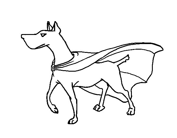super dog coloring pages - photo#31