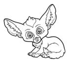 Dibujo de Fennec fox