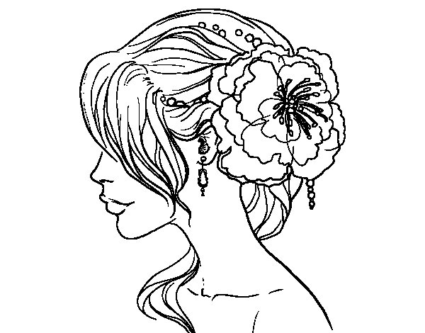 printable coloring pages haircuts - photo#9
