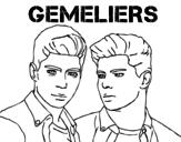 Gemeliers - Mil y una noches coloring page