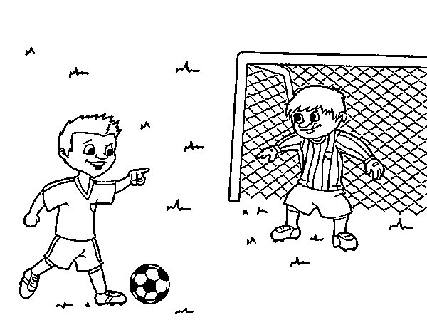 goalkeeper football coloring page coloringcrewcom