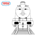 Gordon from Thomas and friends coloring page