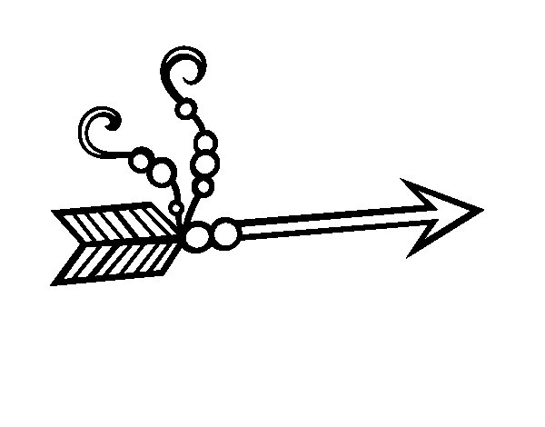 Indian Arrow Coloring Pages