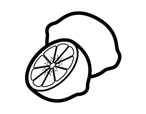 Color Lemons Food Coloring Pages
