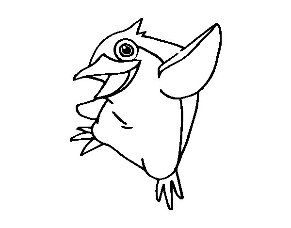 Little Blue Penguin Coloring Page Little Blue Penguin Coloring
