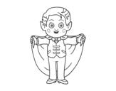 Dibujo de Little vampire