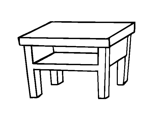 tables coloring pages - photo #16