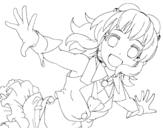 Megpoid Gumi coloring page
