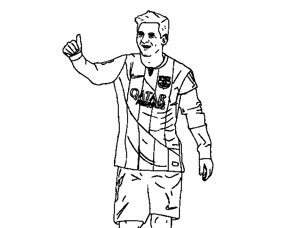 Messi Ronaldo Coloring Pages Soccer Coloring Pages Messi
