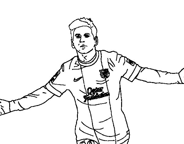 Free Coloring Pages Of Not Lionel Messi Soccer Coloring Pages Messi