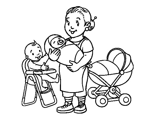 Nanny mcphee coloring pages sketch coloring page for Nanny mcphee coloring pages