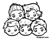 Dibujo de One Direction 2