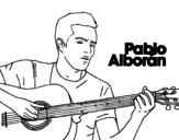 Pablo Alborán - Solamente tú coloring page