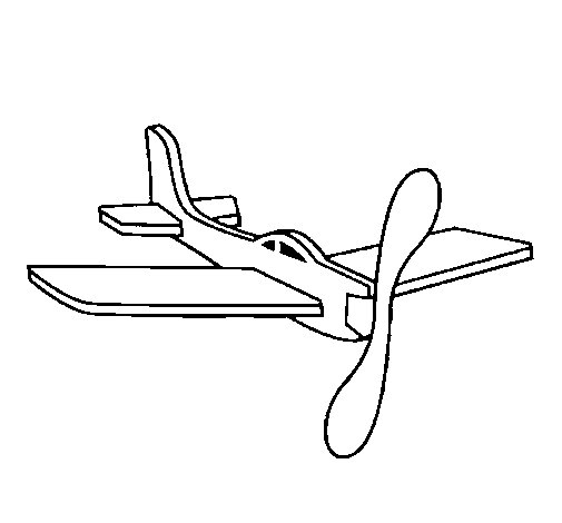 Coloring Pages Of Paper Airplanes : Paper plane coloring page coloringcrew