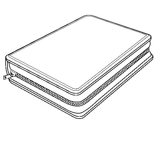 Pencil Case Coloring Page Coloringcrew Com
