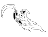 Phantom death coloring page