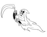 Phantom death coloring page