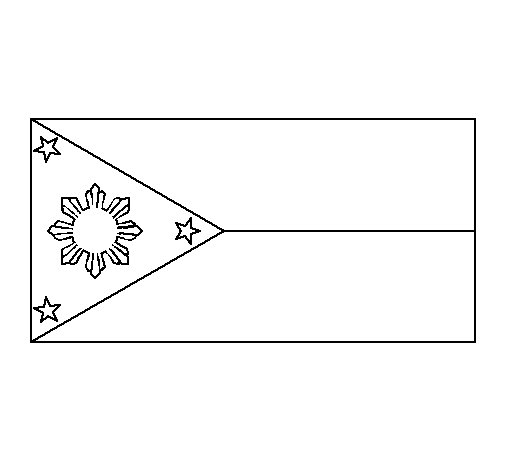 Philippines coloring page