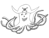 Dibujo de Pirate octopus
