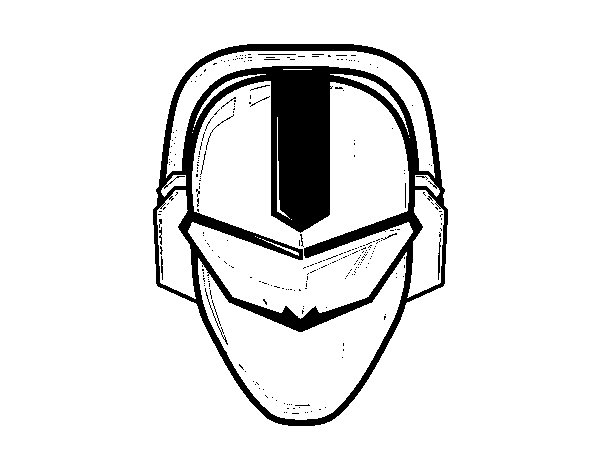 power rangers mask coloring pages - power ranger mask coloring page