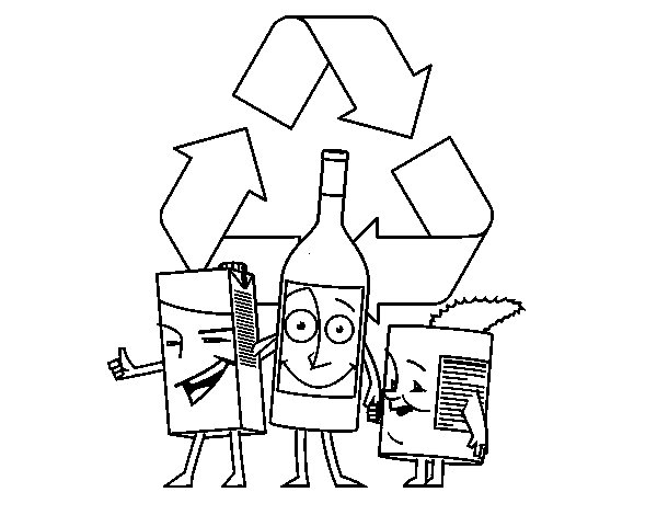 recycle coloring pages  28 images  recycle coloring page earth