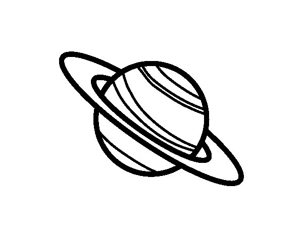 saturn coloring sheet printable coloring pages