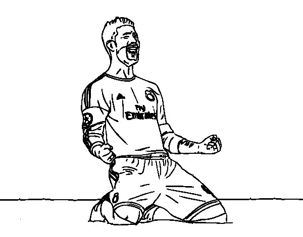 goals coloring pages - photo#36