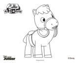 Sheriff Callie's Wild West - Sparky coloring page
