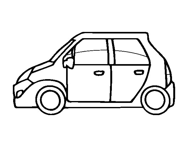 little cars coloring pages - photo#12