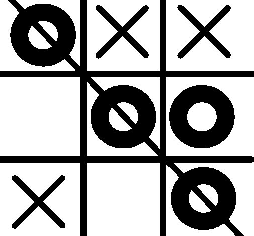 tic tac toe coloring page