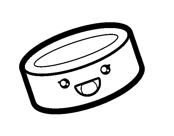 Tin can of food coloring page - Coloringcrew.com