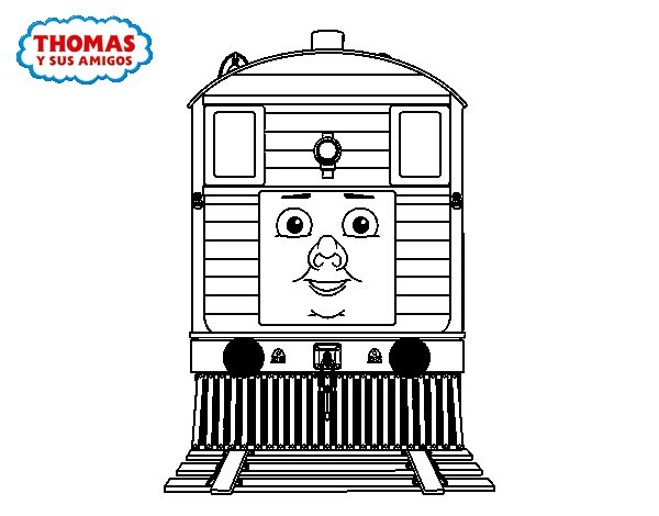 toby from thomas and friends coloring page  coloringcrew, printable coloring
