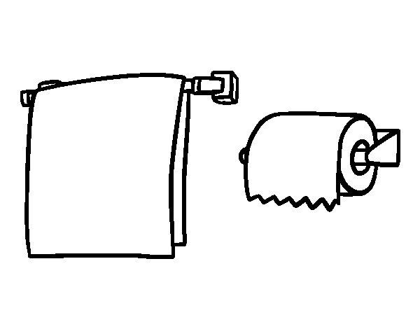 paper towel coloring pages - photo#3
