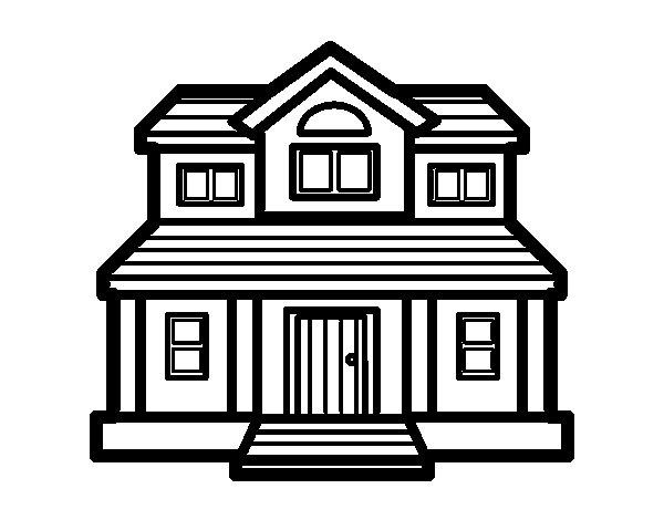 Free coloring pages of victorian houses - Fotos de casas para dibujar ...
